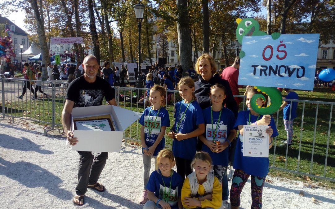 Najboljša tabla na Ljubljanskem maratonu