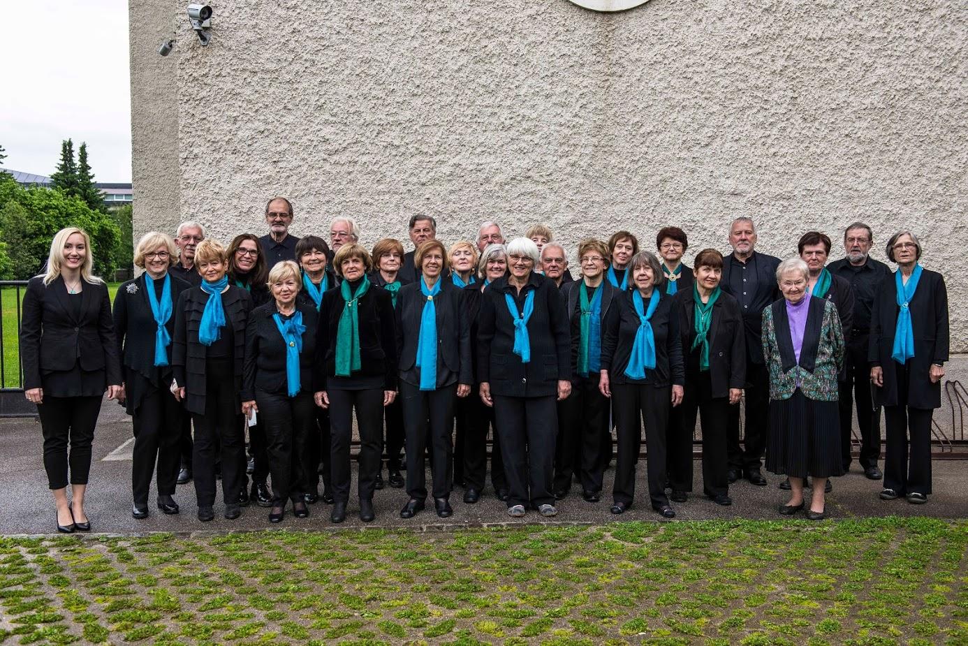 Mešani pevski zbor leta 2020
