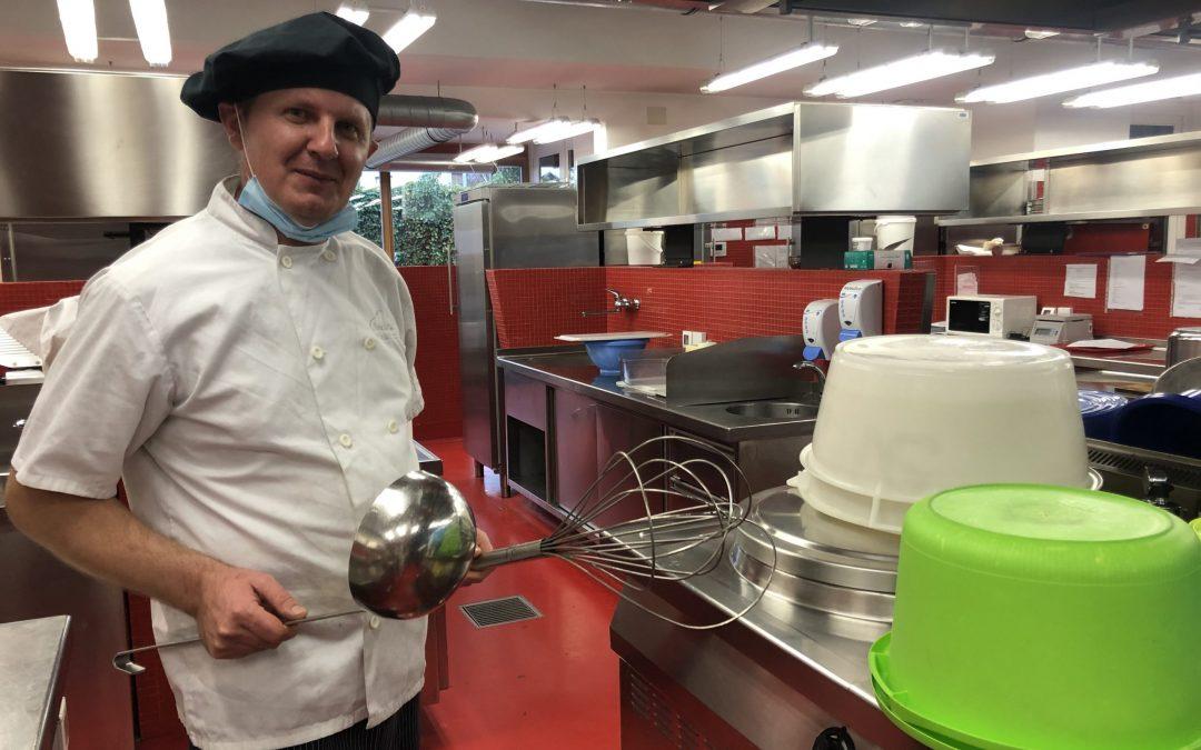 Radijski intervju s kuharjem OŠ Trnovo