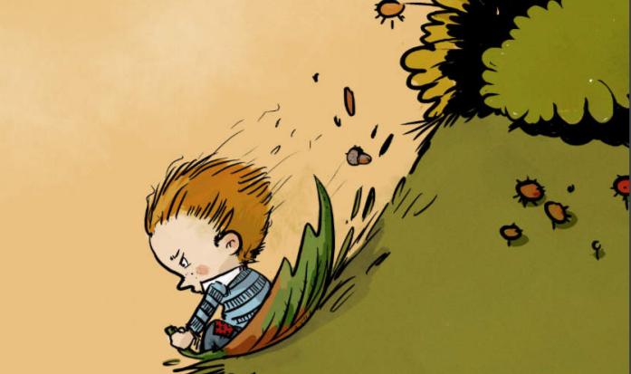 Knjiga S preprostimi igrami enostavno v gozd