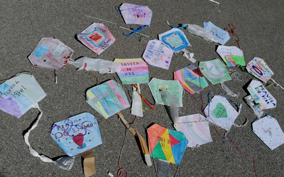 Talking Kites around the World – iEARN projekt
